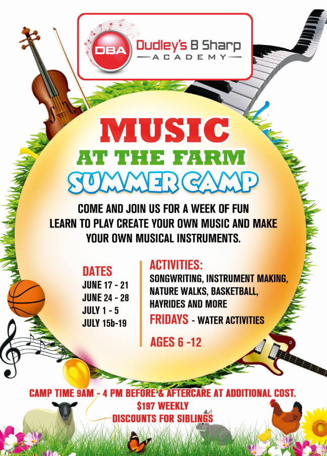 Music At The Farm Summer Camp
